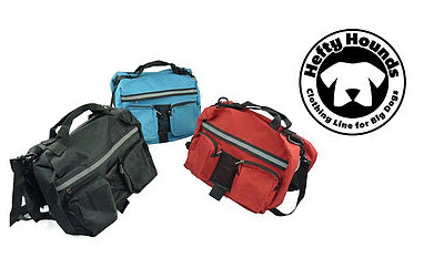 Dog Saddle Bags - Hefy Hounds