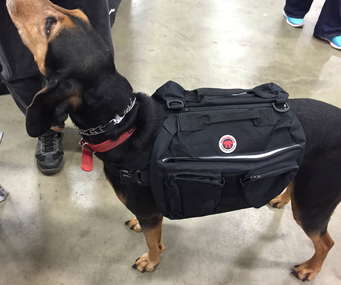 Dog Saddle Backpack - Hefty Hounds