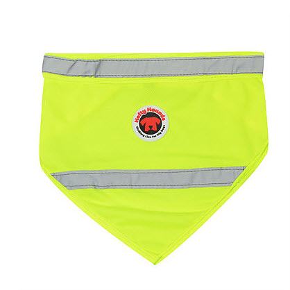 safety wear for dogs bandana yellow