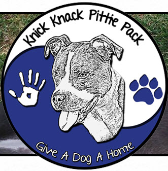 knick knack pittie pack dog rescue