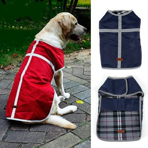 REVERSIBLE cold weather coat for dogs