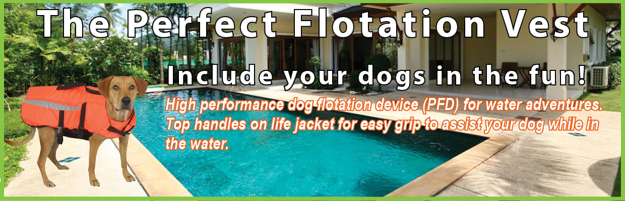 dog flotation vest