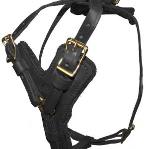 viper harness black