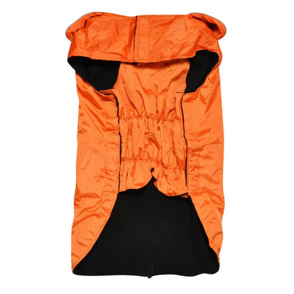 Water Resistant Lined Rain Coat Hefty Hounds Bottom View