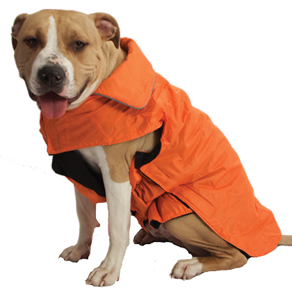 Water Resistant Lined Rain Coat for big dogs