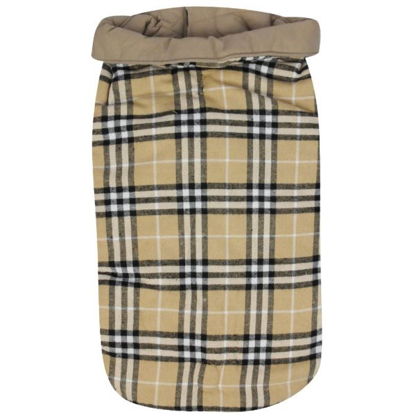 large plaid coats for big dogs hefty hounds 3