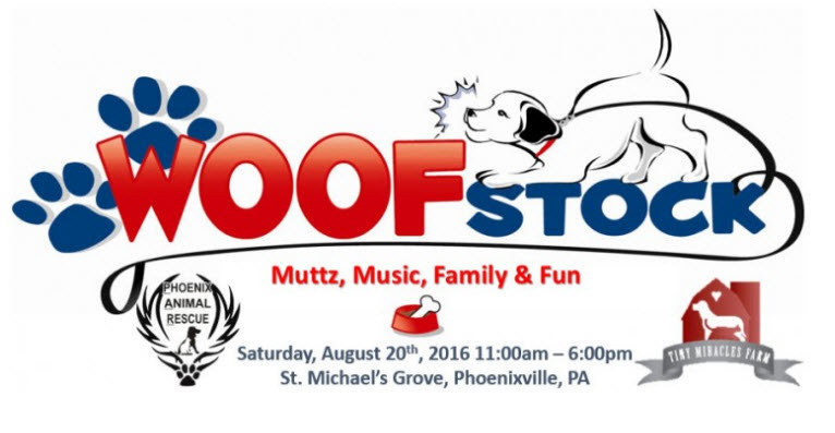 woofstock phoenixville aug 20th 2016