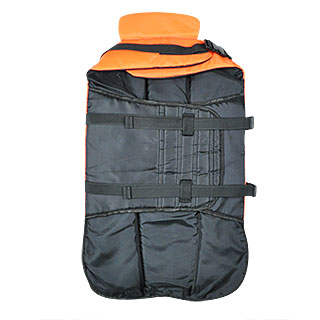 inside dog lifevest