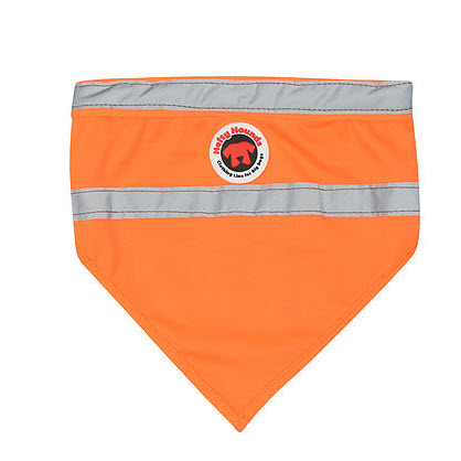 safety bandanas for dogs Orange