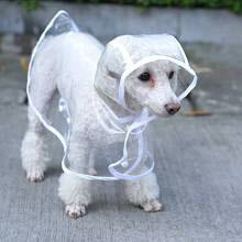 clear raincoat for dogs
