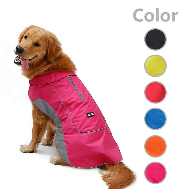Zipper top water proof coat 1