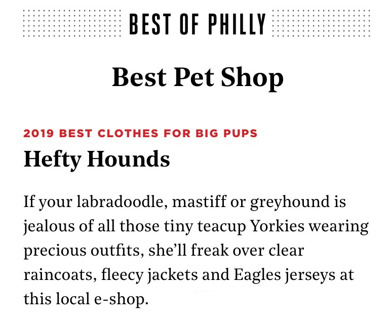 best of philly best clothes for big dogs